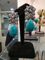 Natural Gemstone Earrings