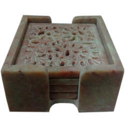Soapstone Carved Coasters