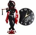 Acrylic Wall Clock Krishna Design