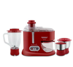 Attractive Red And Silver Maharaja Whiteline Ultimate Juicer Mixer Grinder