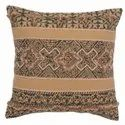 Soft Cotton Printed Embroidered Square Cushion Cover