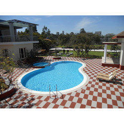 Ceramic Tile Swimming Pool