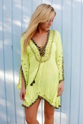 Sexy beachwear tunic