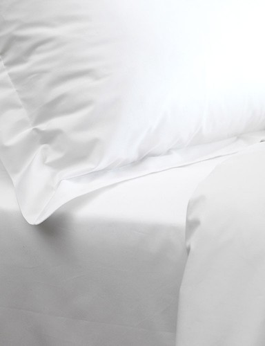 100% Cotton White Bed Sheets