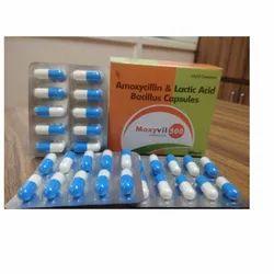 Amoxycillin and Lactic Bacillus Capsules