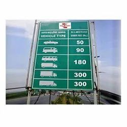 Toll Plaza Boards
