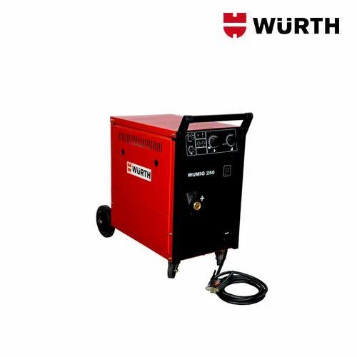 WURTH 20-250 A MIG Welding System, 400 V/AC