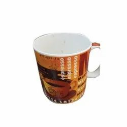 Round Ceramic Printed Milk Mug, Capacity: 350 Ml, For Drinking Milk