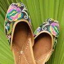 Latest Designer Punjabi Jutti Butterfly