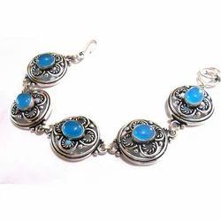 Handmade Silver Plated Brass Exclusive Designs Bracelet