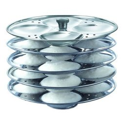 3 in 1 Dynasty Stainless Steel Idli Plate