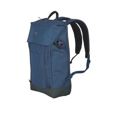 fe96407dee95 Blue Victorinox 602141 14 L Deluxe Flapover Laptop Backpack And Messenger  Bag
