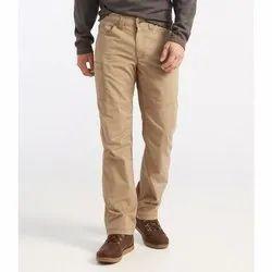 Brown Mens Cotton Formal Pants, Machine Wash, 28-36