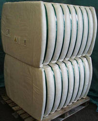 White Fibre Bales, 64mm, Grade: Recycled