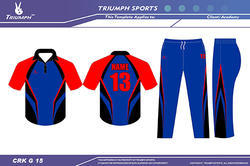 Custom Cricket Clothing