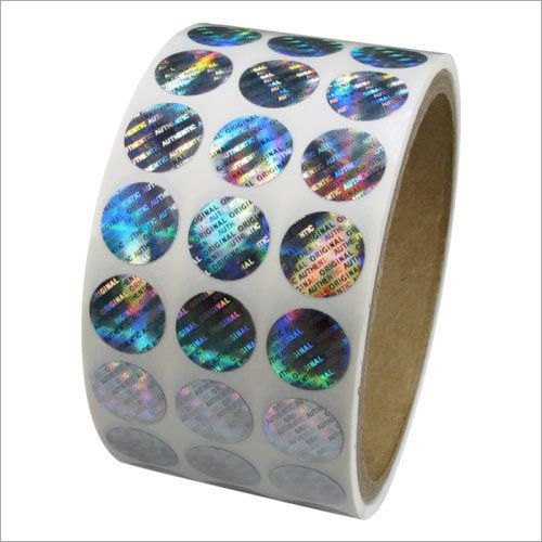 Pvc Custom Hologram Stickers, Packaging Type: Box, Rs 0.25 /pieces | ID:  21091396488