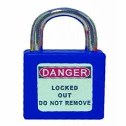 OSHA Short Metal Shackle Safety Padlock-KRM-K-OSSPL-DK