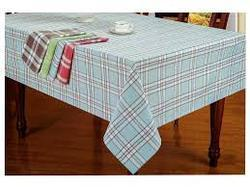 Multicolor Cotton Yarn Dyed Tablecloths, Size: 140x180cm