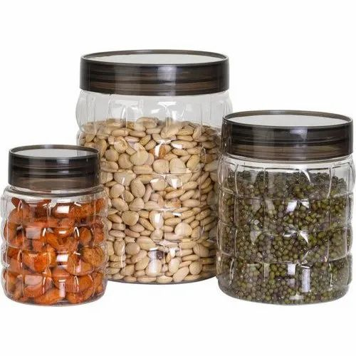 Firefork Transparent Airtight Plastic Containers