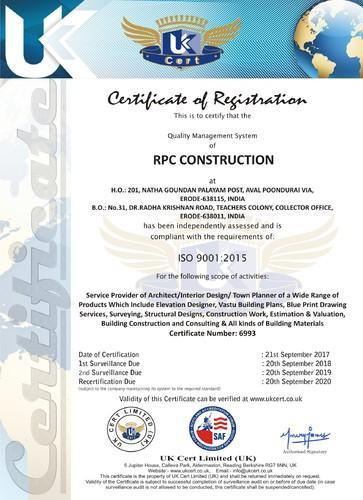 RPC CONSTRUCTION PLANNING PLANNERS BUILDERS