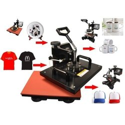 5 in1 Combo Flat Heat Press Sublimation Printing Machine