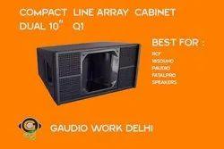Q1 Line Array Dual 10 Inch