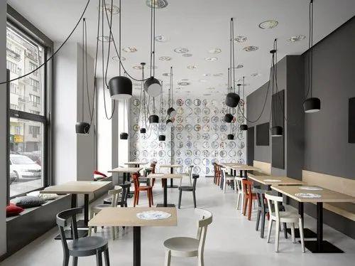 Cafe Interior Design In Ahmedabad