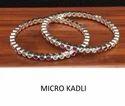 Silver Micro Bangles
