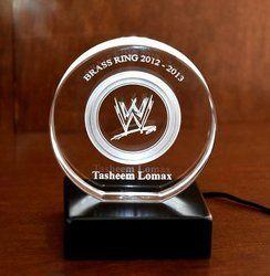 Round Shape Acrylic Trophy