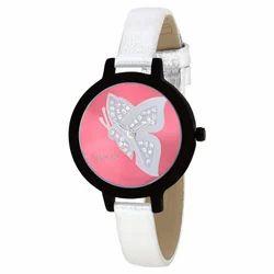 OMAX Analog Pink Dial Women's Watch - LS314