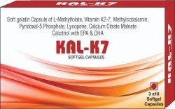 L-methylfolate Vitamin K2-7 Methylcobalamin Pyridoxal-5 Phosphate Lycopene Calcium Citrate Maleate