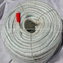 Green Fiberglass Round Braided Rope
