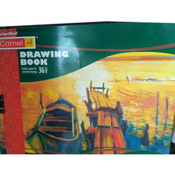 Camel Paper Drawing Book