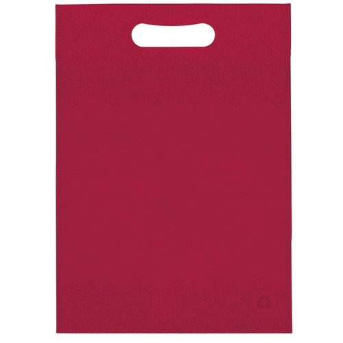Maroon Non Woven D Cut Bags