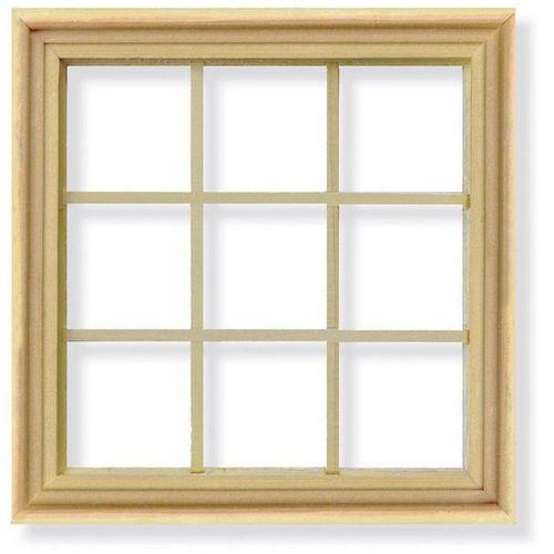 square wooden window frame - Window Frames