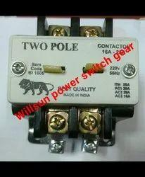 2 Pole Contactors