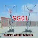 Shree Multicolor Moveable Basket Ball Pole