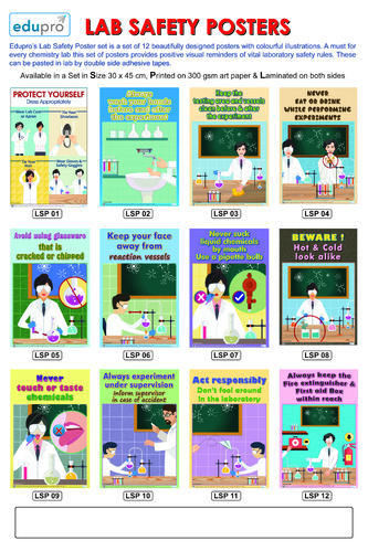 Chemistry Lab Safety Posters