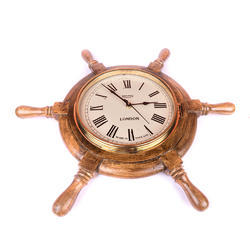 Ship Handle Decorative Clock