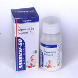 Cefpodoxime 50 mg Oral Suspension