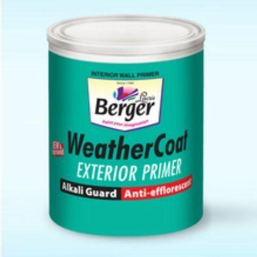 Berger weather coat exterior primer rs 120 liter rakma - Exterior painting temperature minimum ...