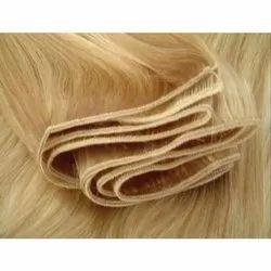 Machine Weft Blonde Hair