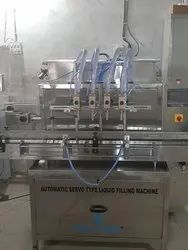 Automatic High Speed Hand Sanitizer Filling Machine
