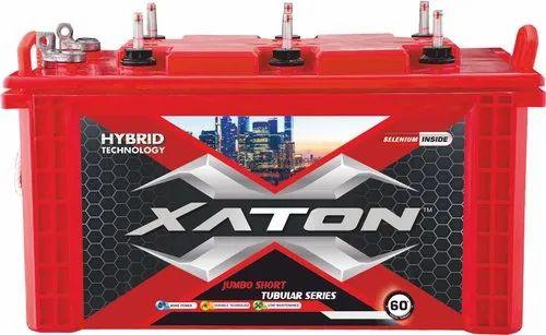 Xaton 120 Ah Short Tubular Inverter Battery