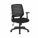 Black Xln-2021 Net Back Chair