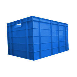 Blue Industrial Plastic Crates