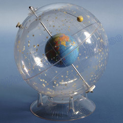 Transparent Star Globe With Earth Inside