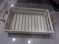 Square Open Crates Wooden Crate Box, for Storage