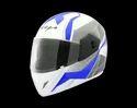 Cliff Dx Pioneer White Blue Helmet