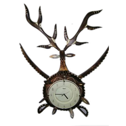 Fancy Wooden Wall Clock At Rs 520 Piece Lakdi Ki Diwar Ghadi